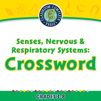 Senses, Nervous & Respiratory Systems: Crossword - NOTEBOO