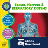 Senses, Nervous & Respiratory Systems Gr. 5-8