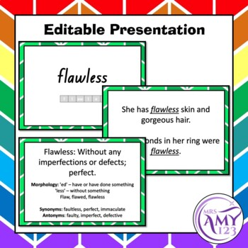 Senses Vocabulary Pack- Word Lists, Flash Cards & Activities