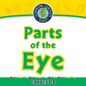 Senses,Nervous & Respiratory Systems: Parts of the Eye - P