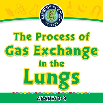 Senses,Nervous & Respiratory: The Process of Gas Exchange in the Lungs-PC Gr.3-8