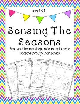 Sensing The Seasons: exploring the seasons through the fiv