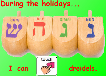 Our Five Senses during the Holidays (Interactive SmartBoard Book with Sounds!)
