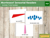 Montessori Sensorial Readers