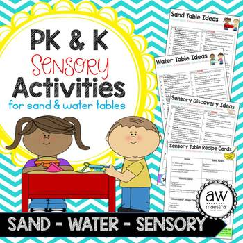 Sensory Activities for Sand & Water Table