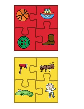 Beginning Sounds ABC Puzzles