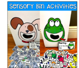 Sensory Bin Activities Bundle