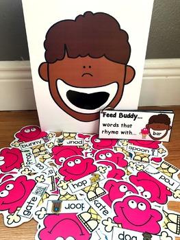 Sensory Bin Activities:  Feed Buddy Ice Cream