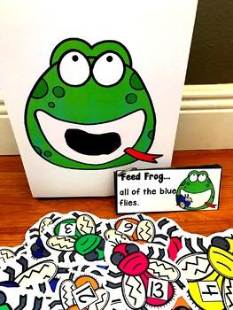 Sensory Bin Activities:  Feed Frog Activities