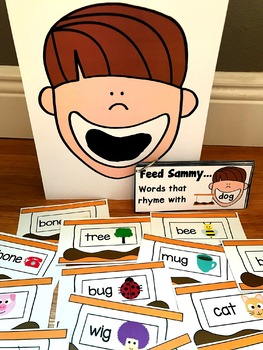 Sensory Bin Activities:  Feed Sammy S'mores