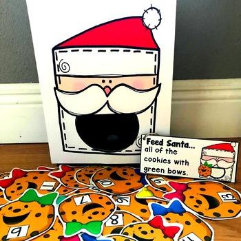 """Sensory Bin Activities: """"Feed Santa"""" by File Folder Heaven ..."""