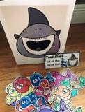 Sensory Bin Activities:  Feed Shark Activities