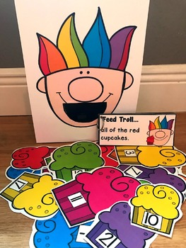 Sensory Bin Activities:  Feed Troll