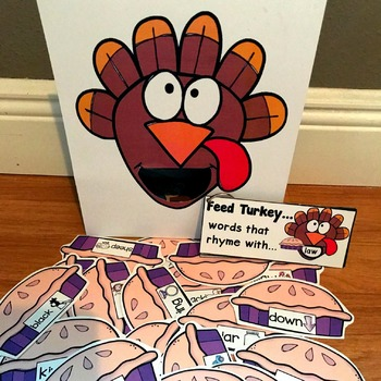 "Sensory Bin Activities: ""Feed Turkey"""