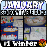 Sensory Bin Activities January Sensory Table Winter Center