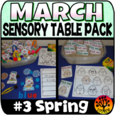 Sensory Bin Activities March Hands On Spring Sensory Table Recording Sheets