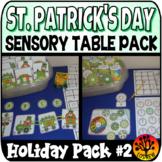 Sensory Bin Activities Saint Patrick's Day Sensory Table C