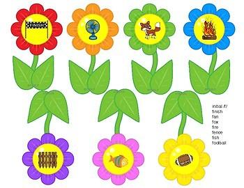 Spring Articulation Flowers