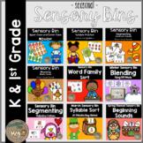 Sensory Bin for Kindergarten and First Grade Bundle