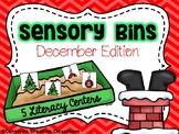 Sensory Bin - December Edition - Christmas Literacy Centers