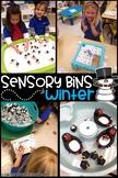 Sensory Bin - January Edition - Winter Literacy Centers