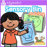Sensory Bin Letter Matching Mats