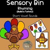 Sensory Bin - Rhyming for Kindergarten and First Grade