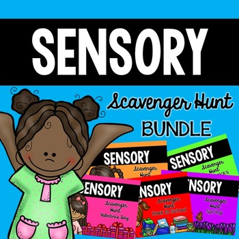 Sensory Bin Scavenger Hunt BUNDLE