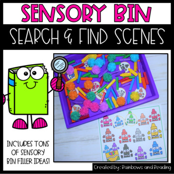Sensory Bin Search and Find Scenes: Growing Bundle