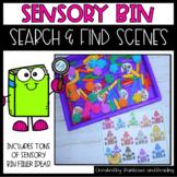 Sensory Bin Search and Find Scenes