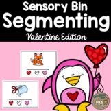 Sensory Bin - Segmenting CVC Words For Kindergarten and Fi