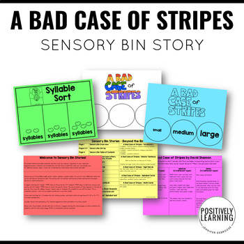 Sensory Bin Stories A Bad Case of Stripes