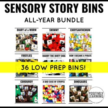 Sensory Bin Stories BUNDLE
