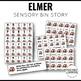 Sensory Bin Stories Elmer