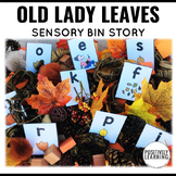 Sensory Bin Stories There Was An Old Lady Who Swallowed So