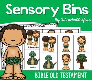 Sensory Bins- Bible Edition