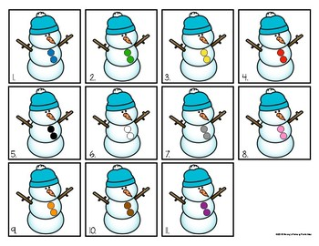 Sensory Bins:Winter