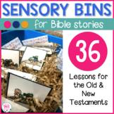 Sensory Bins for Bible Stories