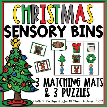 Sensory Bins for December