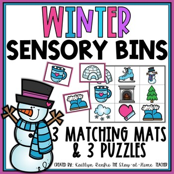Sensory Bins for January