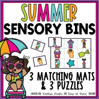 Sensory Bins for June