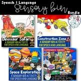 Sensory Bins for Language Bundle: Space, Construction, Sup