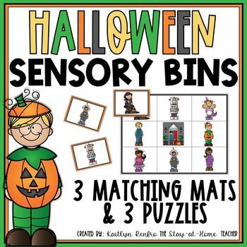 Sensory Bins for October
