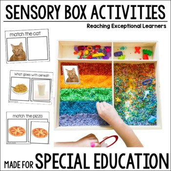 Sensory Box Activities for Special Education: Life Skills