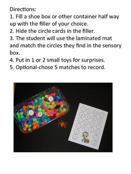 Sensory Boxes for Phonics - Fall