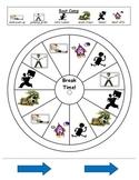 Sensory Break Chart for Elementary Students