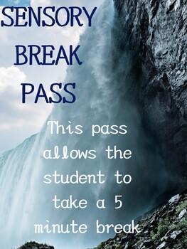Sensory Break Pass