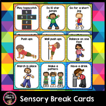 Sensory Break and Movement Cards