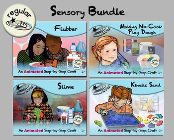 Sensory Bundle - Animated Step-by-Step Craft - Regular