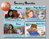 Sensory Bundle - Animated Step-by-Step Crafts - PCS